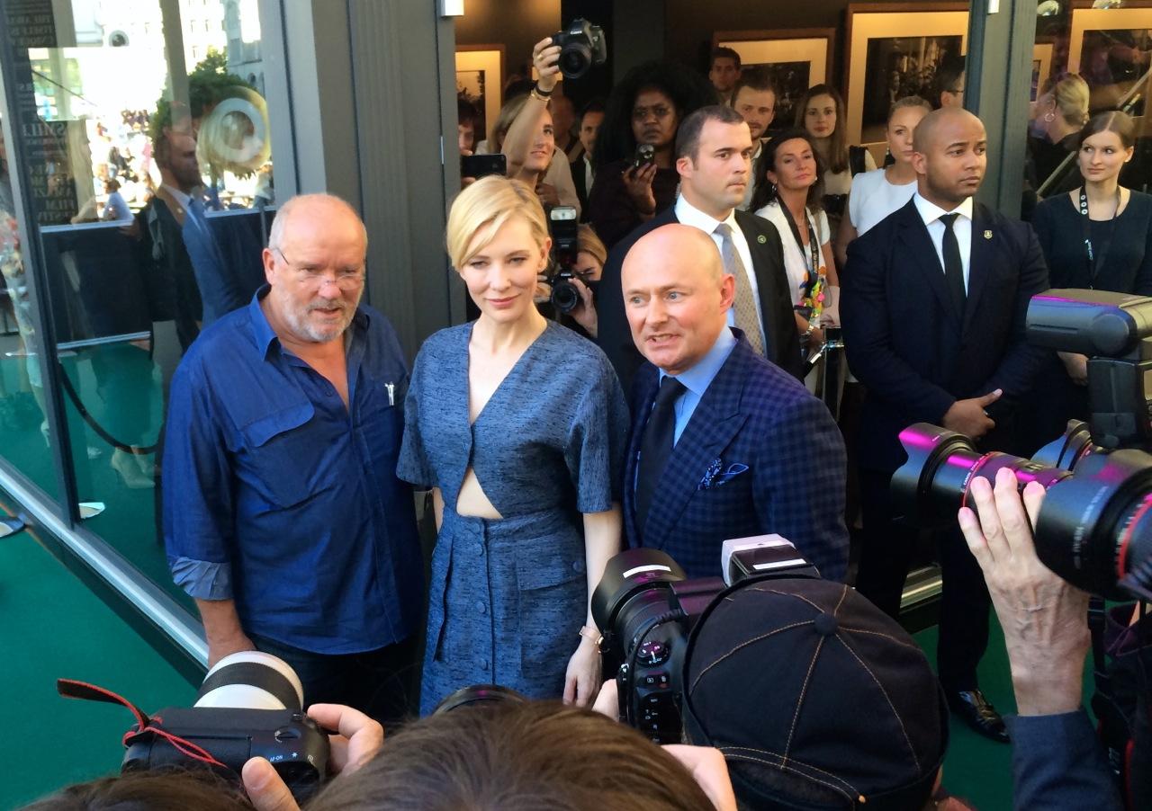 Peter Lindbergh, Cate Blanchett, Georges Kern